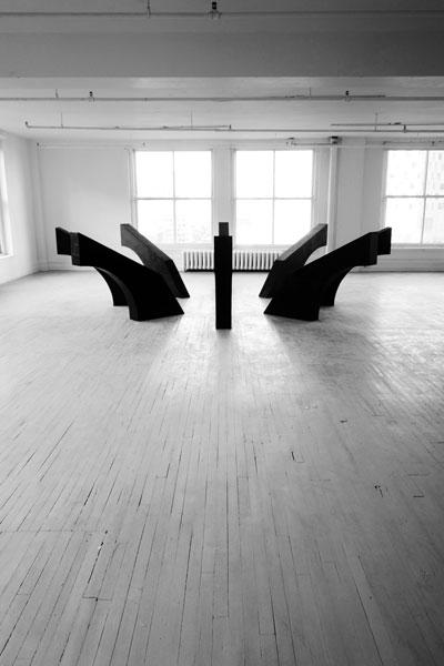 Comme un gant, 2014 / Techniques mixtes / Env. 150 x 500 x 500 cm