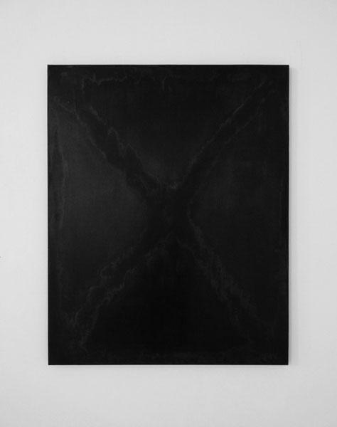 La Gueule Ouverte (Décalogue), 2017 / Techniques mixtes sur panneau de bois / 120 x 98 cm