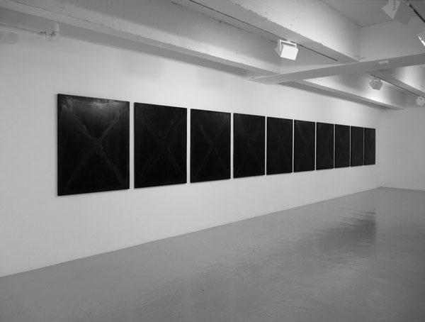 La Gueule Ouverte (Décalogue), 2017 / Techniques mixtes sur panneaux de bois / 120 x 98 cm chq.