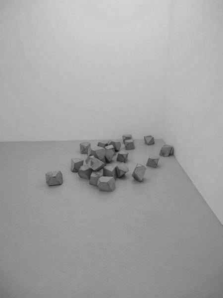 Melencolia, 2011 / Béton armé / 25 x 20 x 16 cm chq. multiple (édition cneai =)