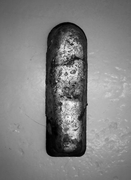 Métal Hurlant, 2016 / Lingot - Cartouches et douilles fondues